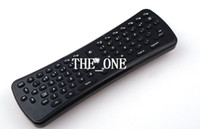 Wholesale 6 axis gyroscope mini fly air mouse ghz wireless keyboard G Mini Fly Air Mouse Keyboard Remote Control for android tv box new arrival