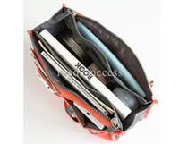 Wholesale Cheap Promotions Lady s organizer bag handbag organizer travel bag organizer insert with pockets storage bags DHL Fedex