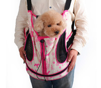Wholesale LD058 New Pet Pack Dog Cat Carrier Coffee Pink Carrier Free Drop Shipping