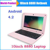 Wholesale Cheapest inch Dual Core Laptop Android VIA HDMI WIFI G GB Camera Mini Netbook Upgarde Tablet Hot Now
