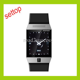 Wholesale 1 Inch ZGPAX S5 Watch Mobile Phone MTK6577 Dual Core RAM MB ROM GB Bluetooth Watch Android Drop shipping