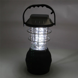 Super Bright Solar Camping Lantern 36 Led Solar Camping Lamp Solar Hand Lamp Rechargeable Emergency Light Camping Lantern Portable Lanterns