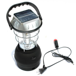 New Arrival LED Portable Lanterns Outdoor Solar Camping Lantern 36 Led Solar Camping Lamp Solar Hand Lamp Rechargeable Light Camping Lantern