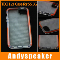 Wholesale TECH case for iPhone S Impact Band Protective Bumper Case D30 TPU back cover case dustproof protector tech21 colorful case UP