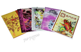 Wholesale EMS Free Traditional A4 Tattoo Sketch Hot Sale Tattoo Flash Tattoo Books