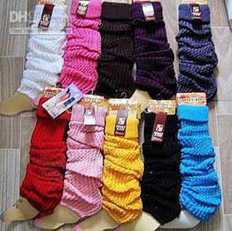 solid knit leg warmers Tight & Sexy leg warmer tight 20 pairs lot #5504
