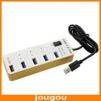 Wholesale Portable Super Speed Meter USB Ports With Charging Port Aluminum Alloy Port USB Hub
