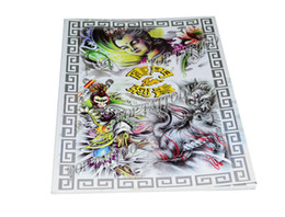 Wholesale New Design TANGMEN CIQING Tattoo Manuscript A4 Tattoo Art Book Flash Sketch