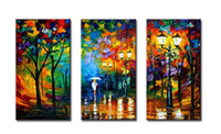 any quanity is ok Oil Painting Fashion Abstract Landscape Painting on Canvas Oil Decorated Wall Art