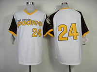Baseball Men Short Padres Sports Apparel #24 Baseball Jerseys White Baseball Best Style Baseball Wears High Quality Cheap Outdoor Uniform