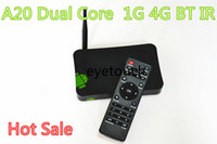 Dual Core Included 1080P (Full-HD) LOW Price High Quality Android TV Box A20 Dual Core Android Tv Box Hot Sell Cheapest Dual Core Tv Box Google Tv Player Smart TV BOX 20pcs 1