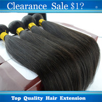 Wholesale Clearance Sale Straight Hair Cheap Peruvian Hair Extensions Silky Hair Weft Dyeable Bleacheable Natural Black Weave Tangle Free