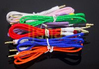 3. 5mm Braided Fabric Audio AUX Cable 1M 3FT Colorful 3. 5 mm ...