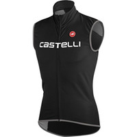 Wholesale 2014 new Castelli Vest cycling Jackets jersey vest bike cycle cycling vest clothing new Black Castelli cycling Black not waterproof