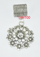 Cheap Charms diy diamond charms Best Traditional Charm Flowers pendant charms set