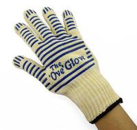 oven mitt gloves - Ove Glove Microwave oven Glove Heat Resistant Cooking Heat Proof Oven Mitt Glove Hot Surface Handler