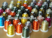 Wholesale Brand new Simthread cones polyester embroidery thread with high glossy