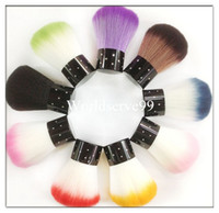 Wholesale Nail Art Brush Dust Remover Cleaner Acrylic UV Gel Rhinestones Cheek Makeup Tool