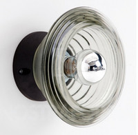 Wholesale HOT SELLING MODERN TOM DIXON PRESSED GLASS LIGHT BOWL WALL LAMP