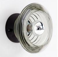E27 ac press - HOT SELLING MODERN TOM DIXON PRESSED GLASS LIGHT BOWL WALL LAMP