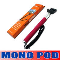 Wholesale Hot Portable Handheld Self Timer Monopod for Camera amp Phone Telescopic Extendible Selfprotrait Stand Holder for Iphone Samsung