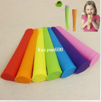 Ice Cream Makers Ceramic ECO Friendly 10 Pcs Silicone Push Up Ice Cream maker Jelly Lolly Pop For Popsicle Maker ice cream mould