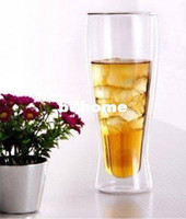 Wholesale 2pcs Pack Double Wall Glass Beer Mug ml Exported To USA Wholesaels
