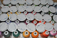 Thread embroidery machine - Brand new famous Brother color polyester embroidery thread for most home embroidery machines