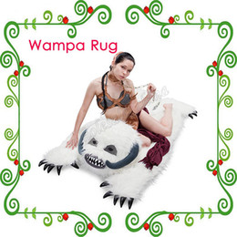 Wholesale Special Design Wampa Rug snow caves of Hoth Rug White color Luxury persuit Rug in your living room with High Quality China Supply