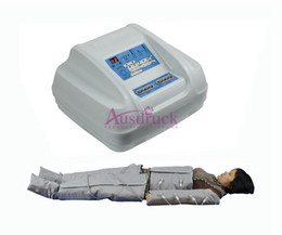 Wholesale 2015 new Heat Pressotherapy air wave pressure Slimming Detox fat loss body wrap fast slim beauty equipment