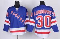 Wholesale Rangers Henrik Lundqvist Premier Player Jersey Royal Blue Hockey Jerseys Playoffs Mens Hockey Jerseys High Quality Team Uniforms