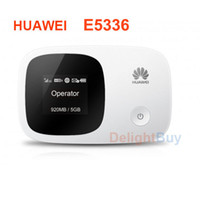 Wholesale Huawei E5336 Wireless hotspot Hspa Pocket Wifi MIFI mbps G wifi Wireless hotspot Modem mobile broadband G Router