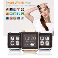 Wholesale PW305 Bluetooth Smart Watch Wristwatches MTK6250 inch LCD Capacitive Screen for Android and upper Smart Phone S5 NOTE S4