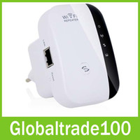 Wholesale Wireless Wifi Repeater Mbps n b g Network Wifi Extender Signal Amplifier Internet Antenna Signal Booster Repetidor Wifi DHL