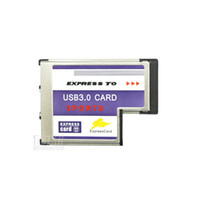 Wholesale USB Hidden Inside Adapter Gbps Port Express Card mm Slot PCMCIA USB HUB Converter for Laptop Notebook
