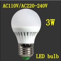 SMD 120v led light bulb - pieces w globe Bulbs LED E27 AC V V or V LED Light Lamp Bulb Cold white warm white