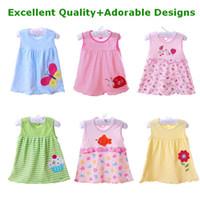TuTu Summer A-Line 40pcs Baby Girl Dress - Girl sundress jumper skirt Girl pinafore baby dress Dresses Girls One-piece B TJ-Q0125
