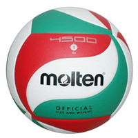 Wholesale New Arrival Hot Sale Molten Official Size PU Volleyball High Quality Soft Touch V5M4500 Match Volleyball