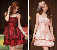 A-Line Reference Images Sweetheart 2014 New Spring Slim Spaghetti Straps Grace Princess Party mini stain Plus size Short Bridesmaid dresses Prom Under $50 WD1210