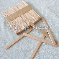 popsicle stick - Wooden Popsicle Sticks DIY Craft Tool Wooden Spatula Ice Cream Stick mm Stick for DIY Ice cream