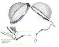 Wholesale Tea Infuser Stainless Steel Tea Pot Infuser Sphere Mesh Tea Strainer Ball Good Quality cm