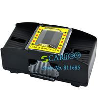 Wholesale New Decks Playing Card Shuffler Quick Shuffling Automatic Machine TK0672