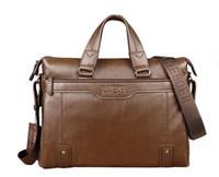 Wholesale LenweBOLO Brand Men s Messenger Shoulder Handbag Genuine Leather Bag For Men Business Briefcase Computer Bag polo