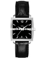 Wholesale T Classic T057 watch lady Quartz movement black leather belt