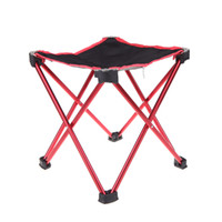 Wholesale High Quality Outdoor Aluminum Portable Foldable Folding Fishing Chair Tool Square Camping Stool Size L H10640R L