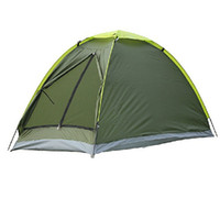 Wholesale New Outdoor Camping Fishing Tent Single Layer Waterproof Portable UV resistant Tents Person H10630