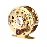 Wholesale 1 Full Metal Fly Fish Reel Former Ice Fishing Vessel Wheel Reels BF600A mm m H10599