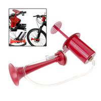 bell pump - High Quality Cycling Bike Bicycle Air Horn Pump Bell Ultra Loud db Red H10671
