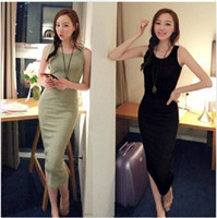 Work Christmas Modern new 2014 summer Women's clothing Vest dress Sling bags buttock of cultivate one's morality dress size ; S M L Free shipping