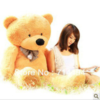 bear network - 80cm three colors teddy bear coat lowest price of the whole network can be customized birthday gifts Christmas gifts gift